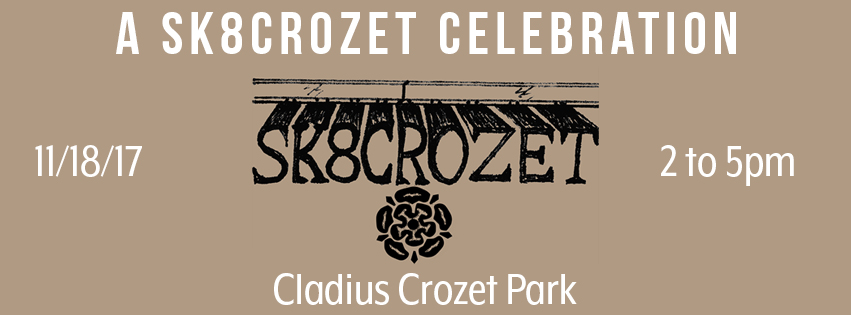 SAVE THE DATE: SK8CROZET Celebration